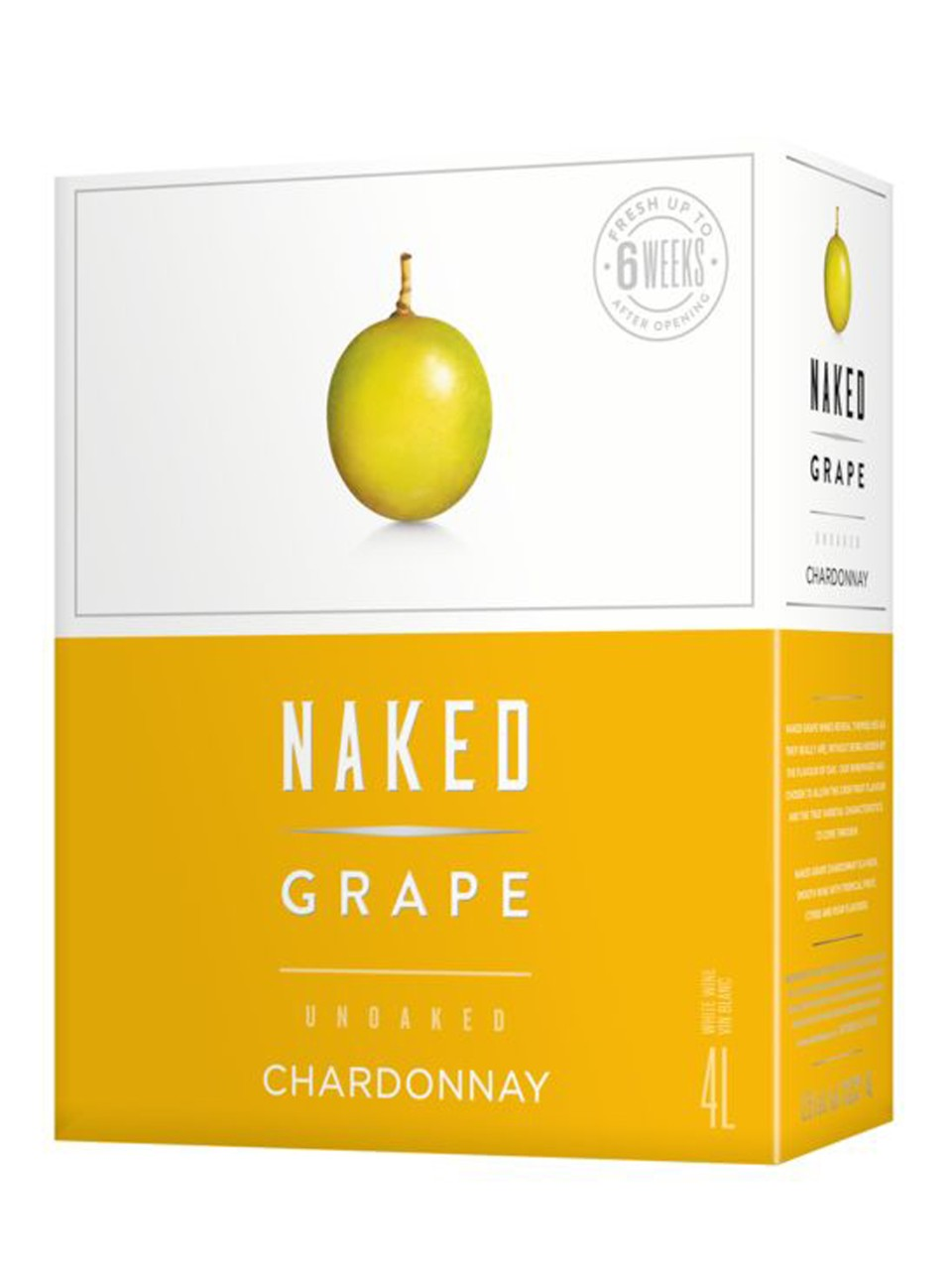 Chardonnay Naked Grape (caisse-outre)