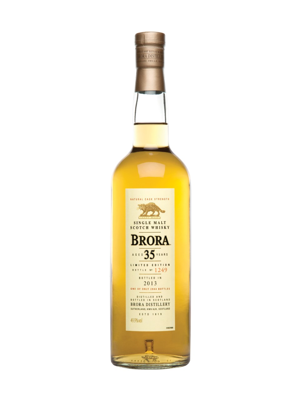 Brora 35-Year-Old Single Malt Scotch Whisky
