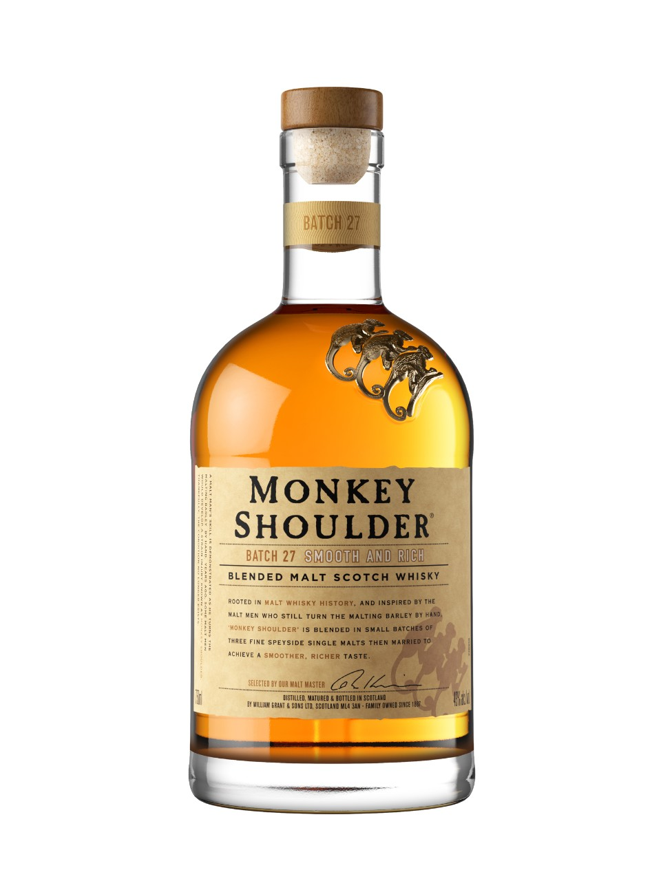 Monkey Shoulder Blended Malt Scotch Whisky from LCBO