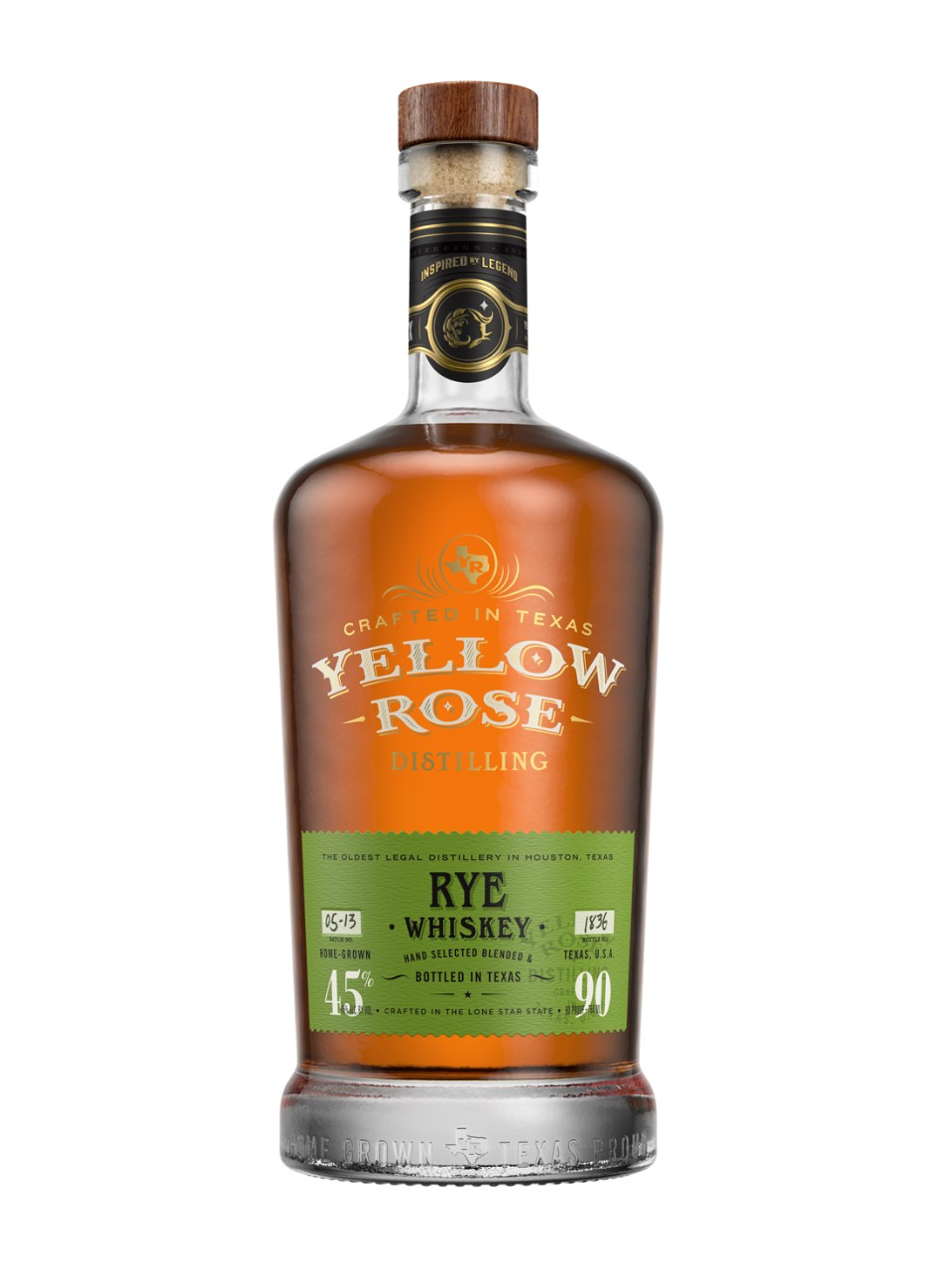 Image for Yellow Rose Straight Rye Whiskey from LCBO
