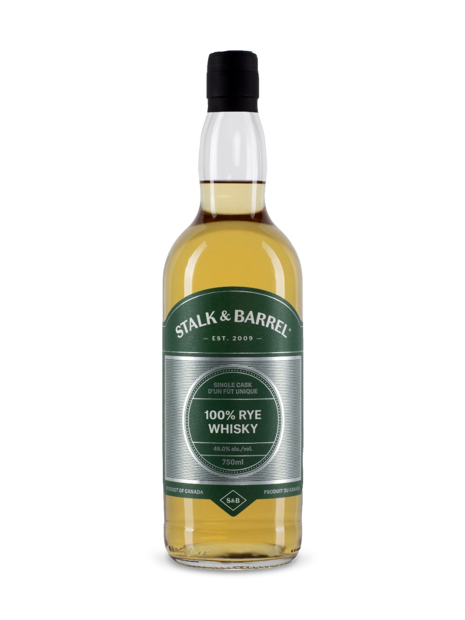 Image for Stalk & Barrel 100% Rye Whisky from LCBO