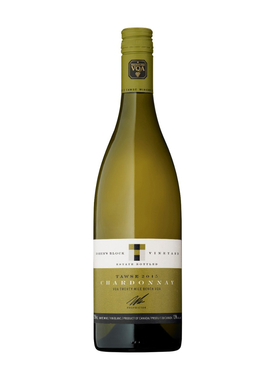Image for Tawse Robyn's Block Chardonnay 2015 from LCBO