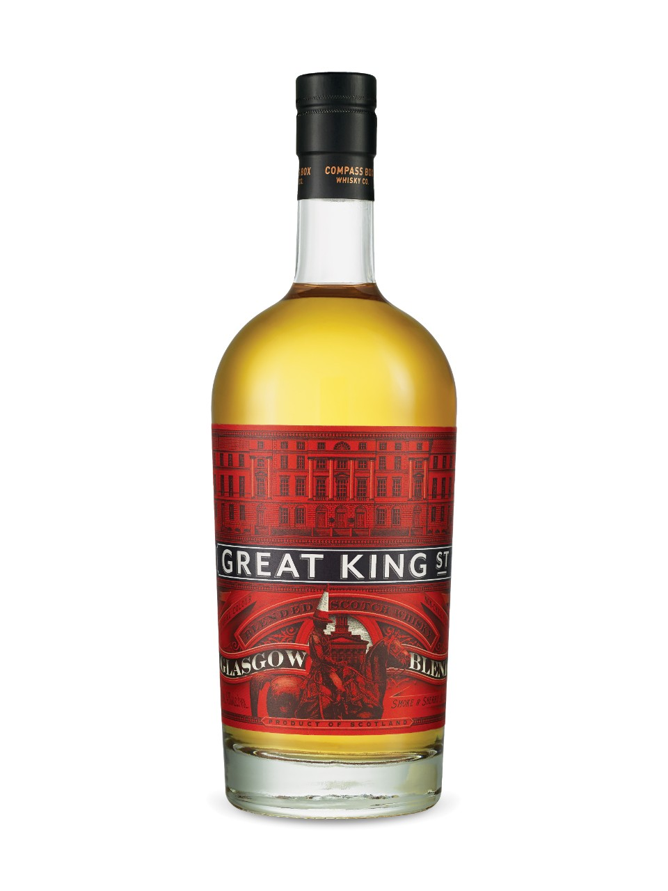 Image for Compass Box Great King Street Glasgow Blend Scotch Whisky from LCBO