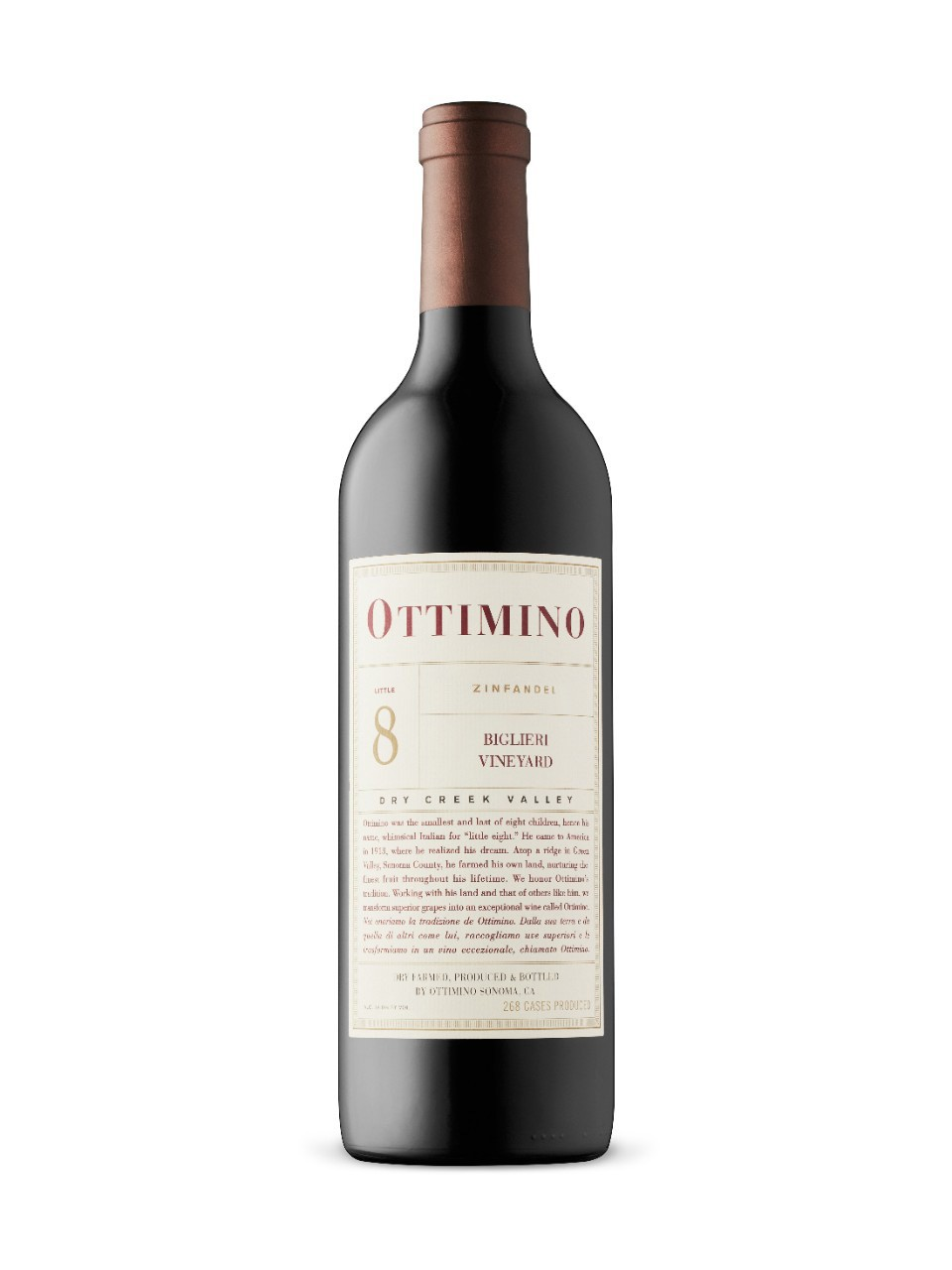 Image for Bill Knuttel Ottimino Biglieri Dry Creek OV Zinfandel 2013 from LCBO