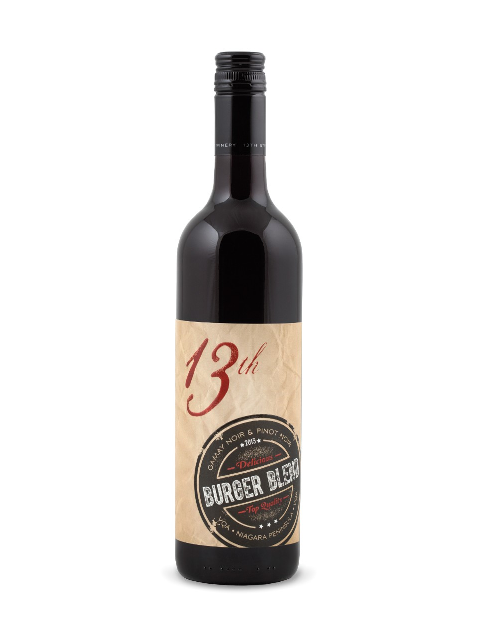Image for 13th Street Burger Blend Gamay Pinot Noir VQA from LCBO