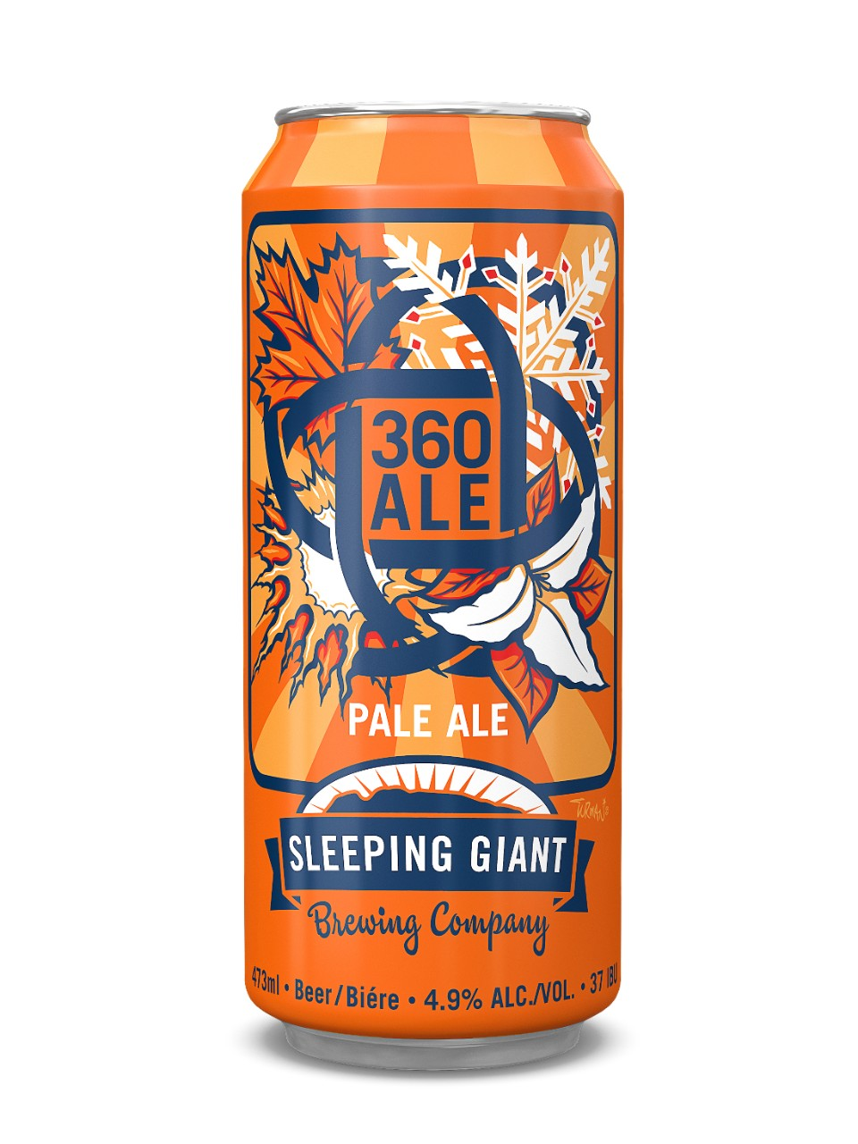 Sleeping Giant Ale 360