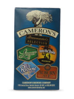 Camerons Brewmaste Selection Pack 4-Pk-B 2015