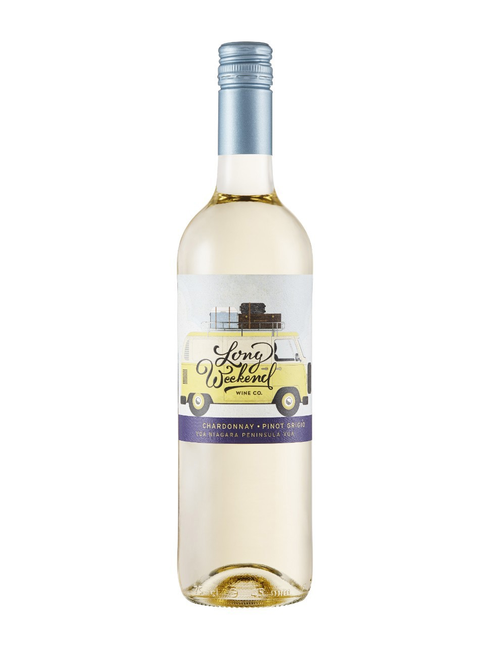 Image for Long Weekend Wine Co.Chardonnay Pinot Grigio VQA from LCBO