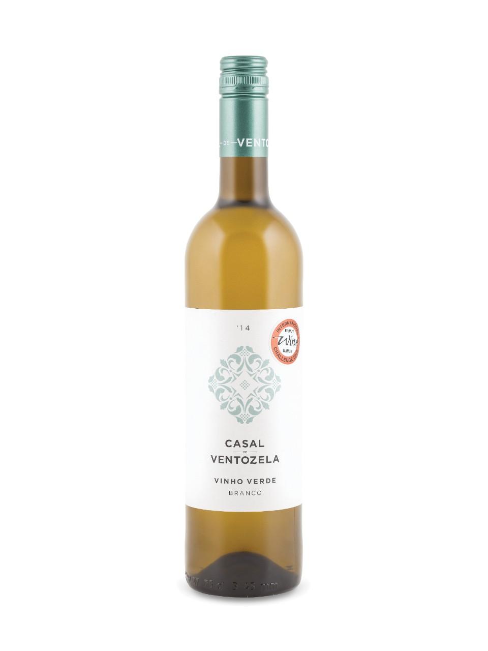 Image for Casal de Ventozela Branco Vinho Verde 2017 from LCBO