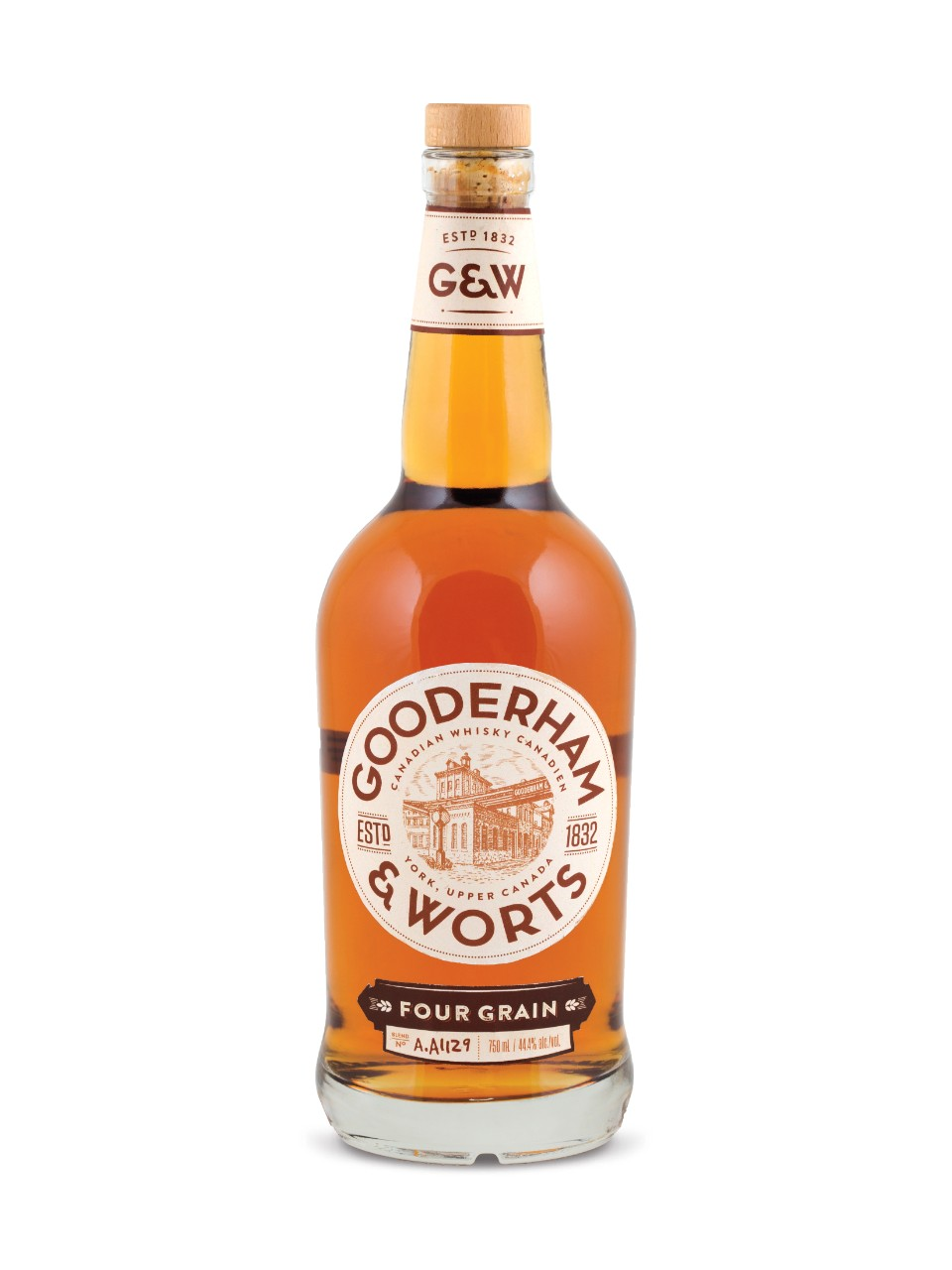 Image for Gooderham & Worts Canadian Whisky from LCBO