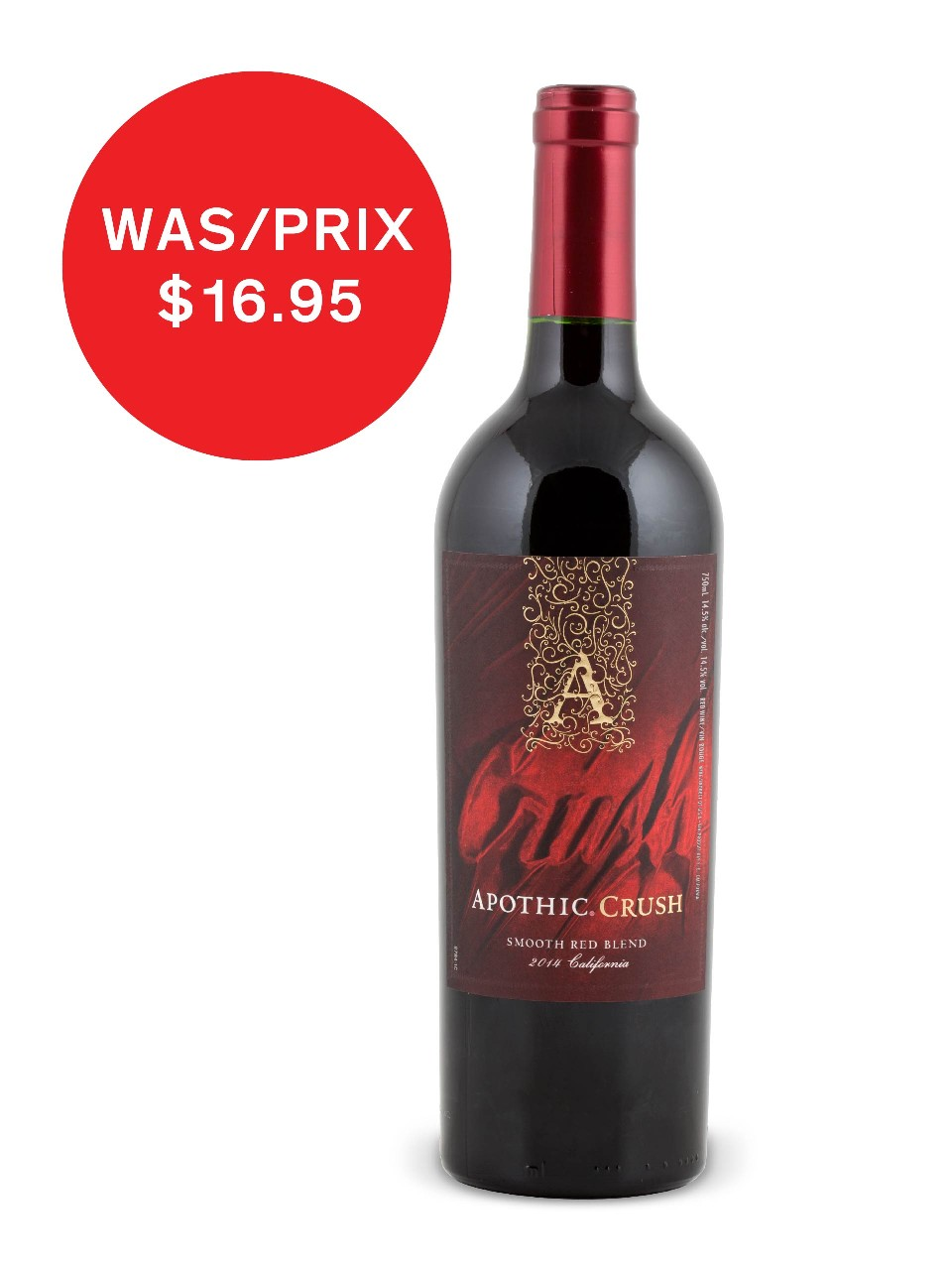 Apothic Crush Red Blend from LCBO