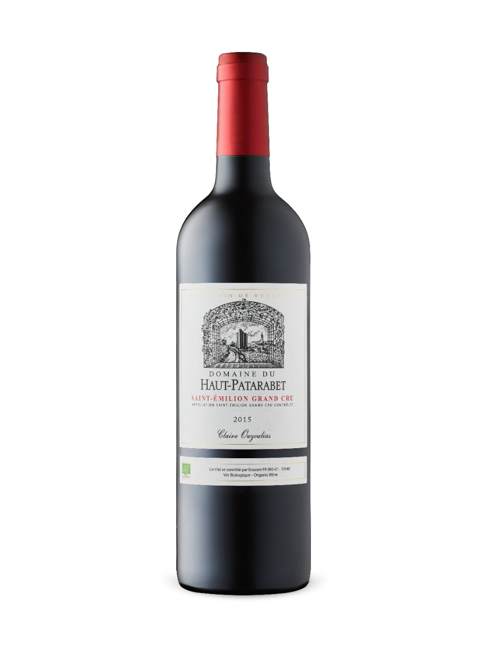 Image for Domaine Du Haut-Patarabet 2015 from LCBO