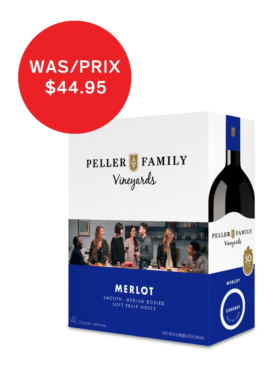 Image for Peller Family Vineyards Merlot from LCBO