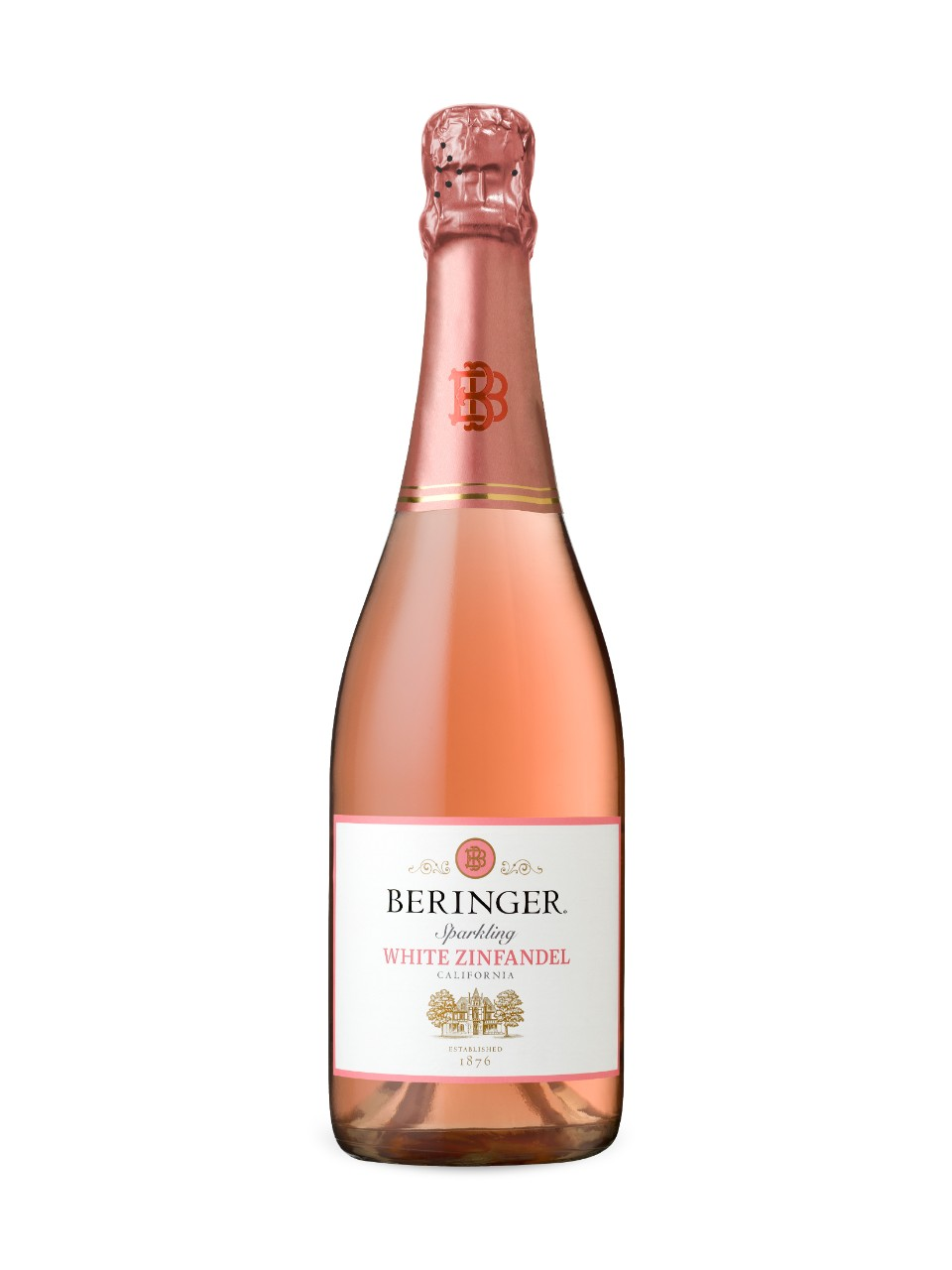 Image for Beringer Sparkling White Zinfandel from LCBO