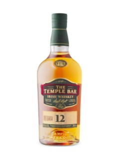 The Temple Bar 12 Year Old Single Malt Irish Whiskey