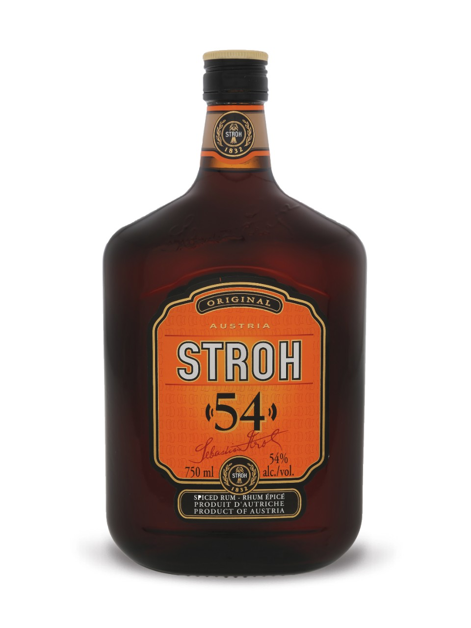 Image for Stroh Original 54 Spiced Rum from LCBO