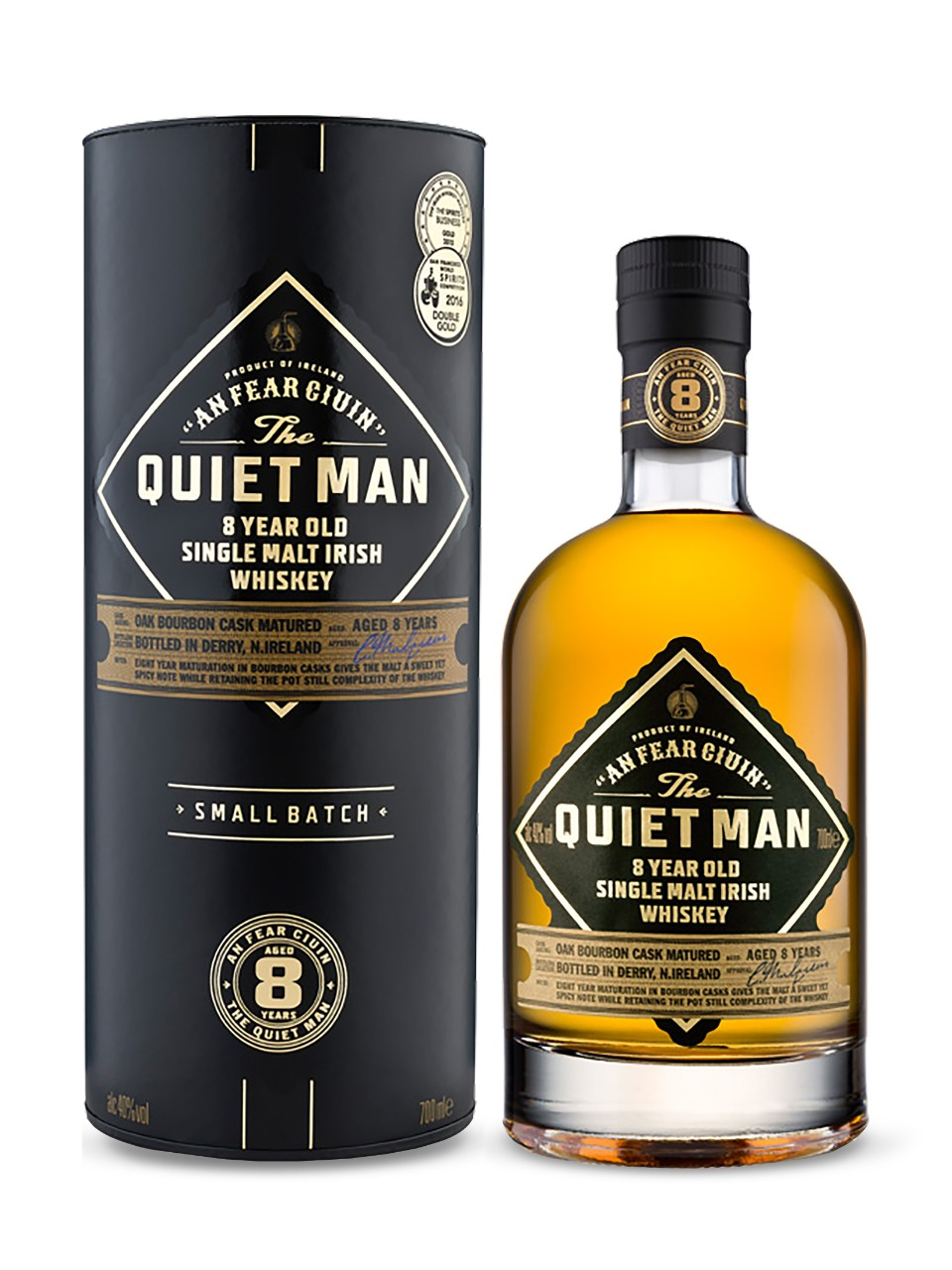 Image for The Quiet Man 8 Year Old Single Malt Irish Whiskey from LCBO