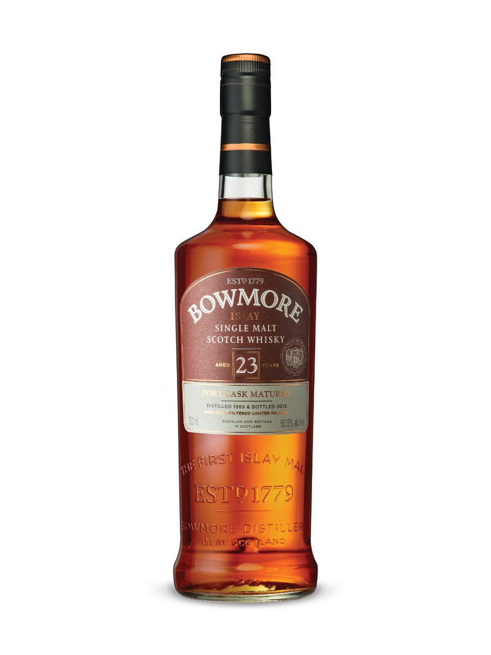 Bowmore Port Matured 23-Year-Old Islay Single Malt Scotch Whisky