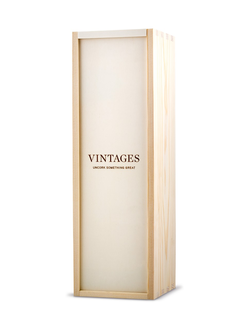 Image for Vintages Wooden Box - 1 Bottle Box from LCBO