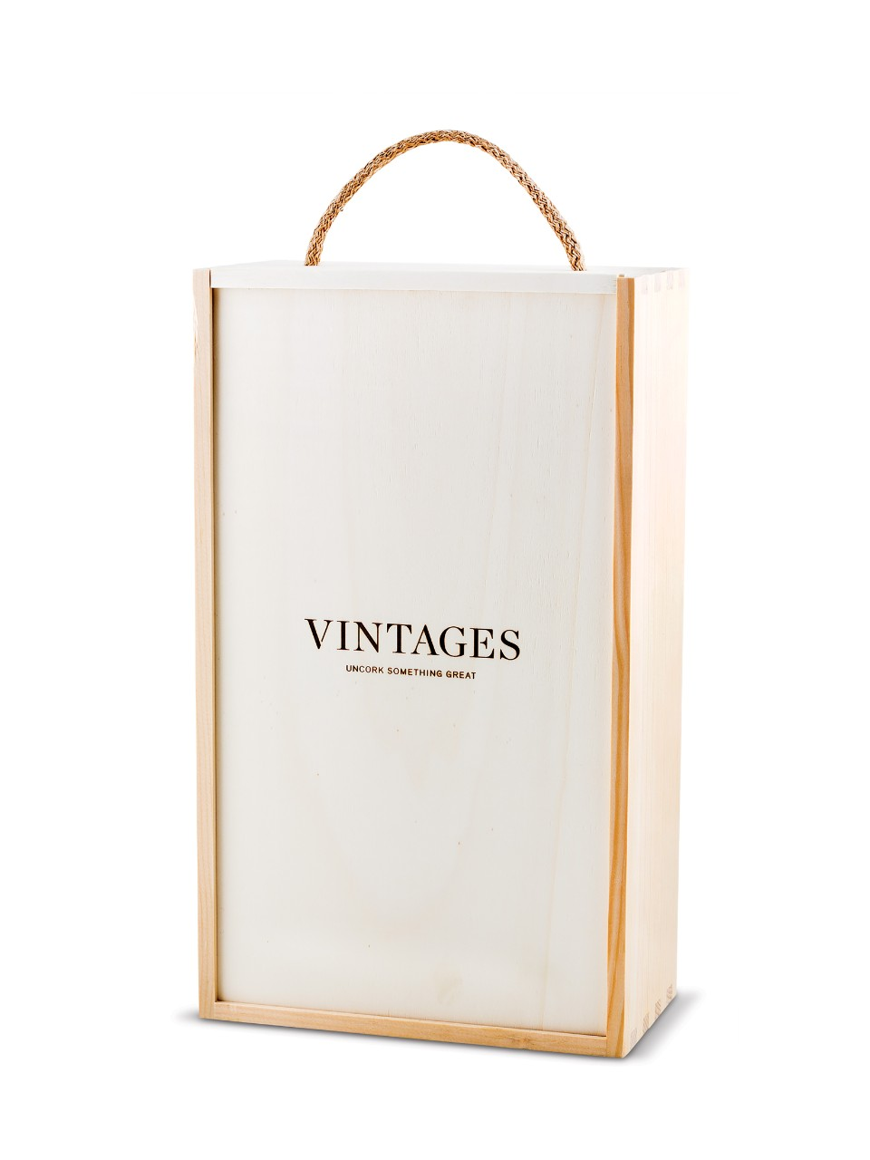 Image for Vintages Wooden Box - 2 Bottle Box from LCBO