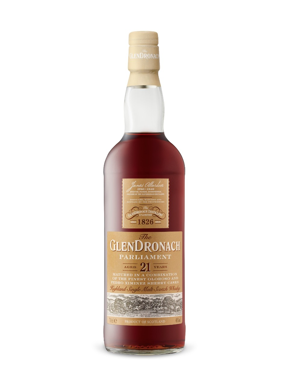 Image for Glendronach 21YO Parliament Single Malt Scotch from LCBO