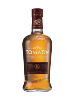 Whisky écossais Single Malt des Highlands Tomatin Portwood 14 ans d'âge