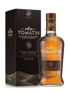 Tomatin 18 Year Old Highland Single Malt Scotch Whisky