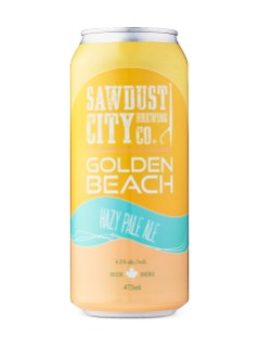 Sawdust City Golden Beach Hazy Pale Ale