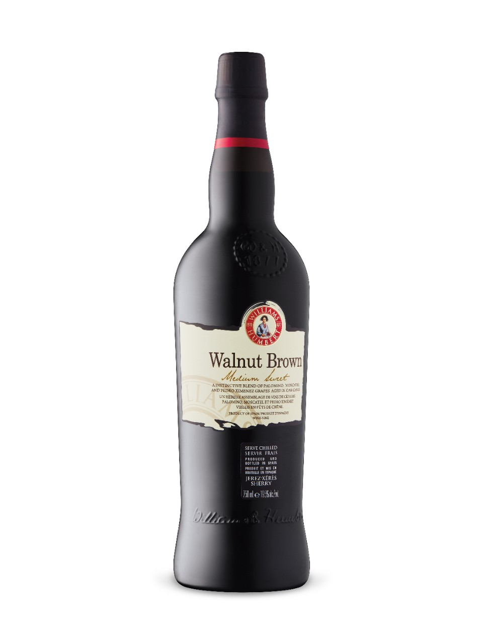 Image for Williams & Humbert Walnut Brown Medium Sweet Sherry from LCBO