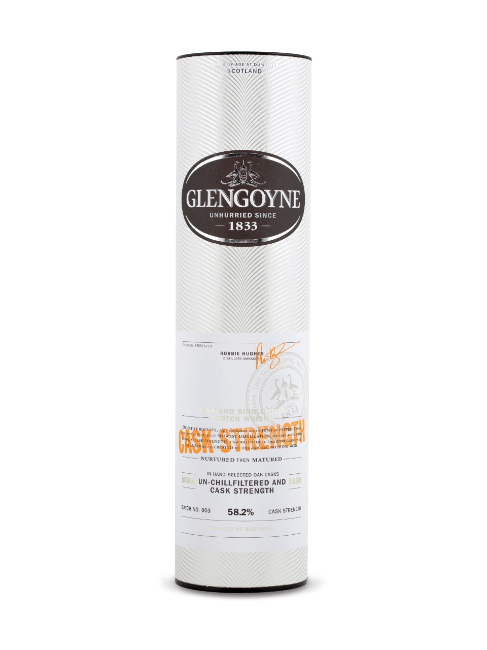 Glengoyne Cask Strength Old Highland Single Malt                                                                                -A