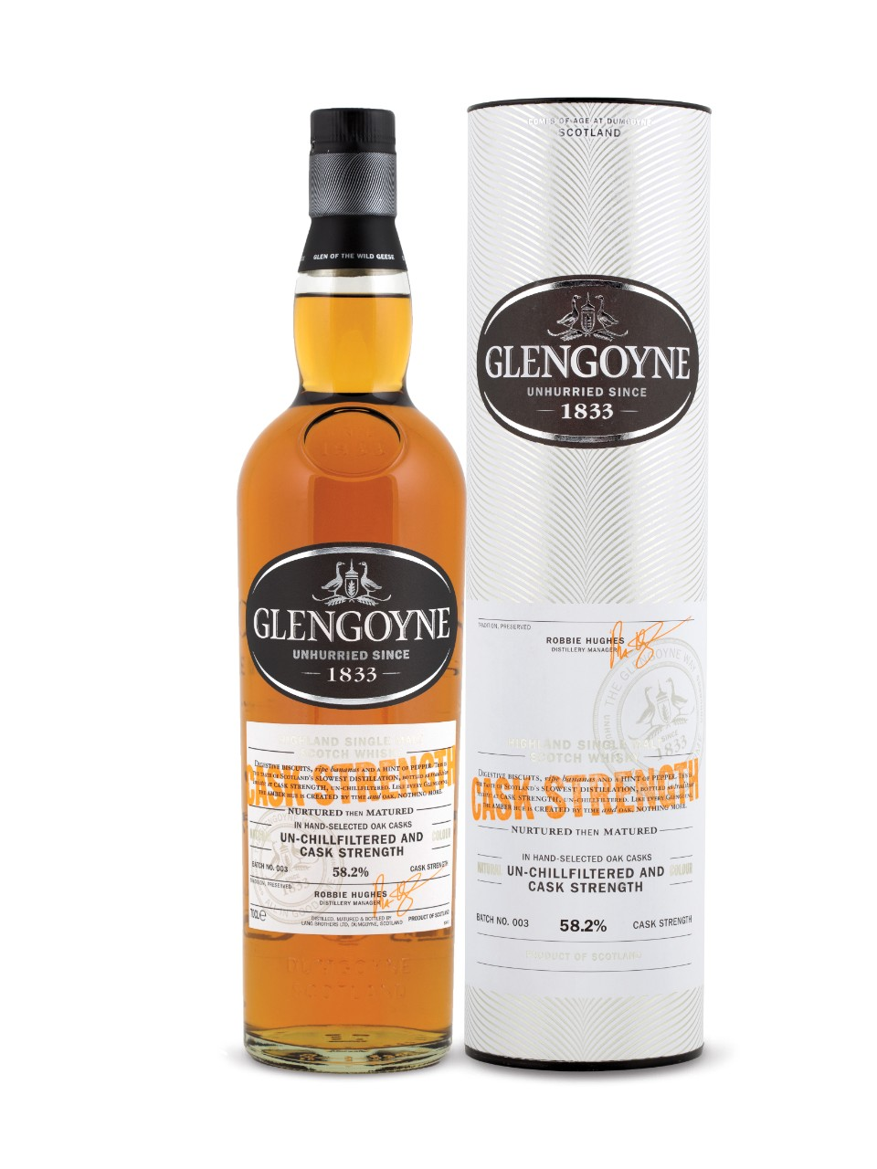 Glengoyne Cask Strength Old Highland Single Malt                                                                                -B