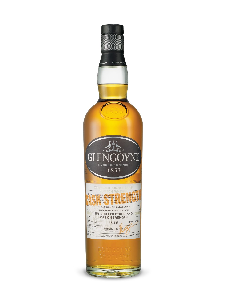 Glengoyne Cask Strength Old Highland Single Malt