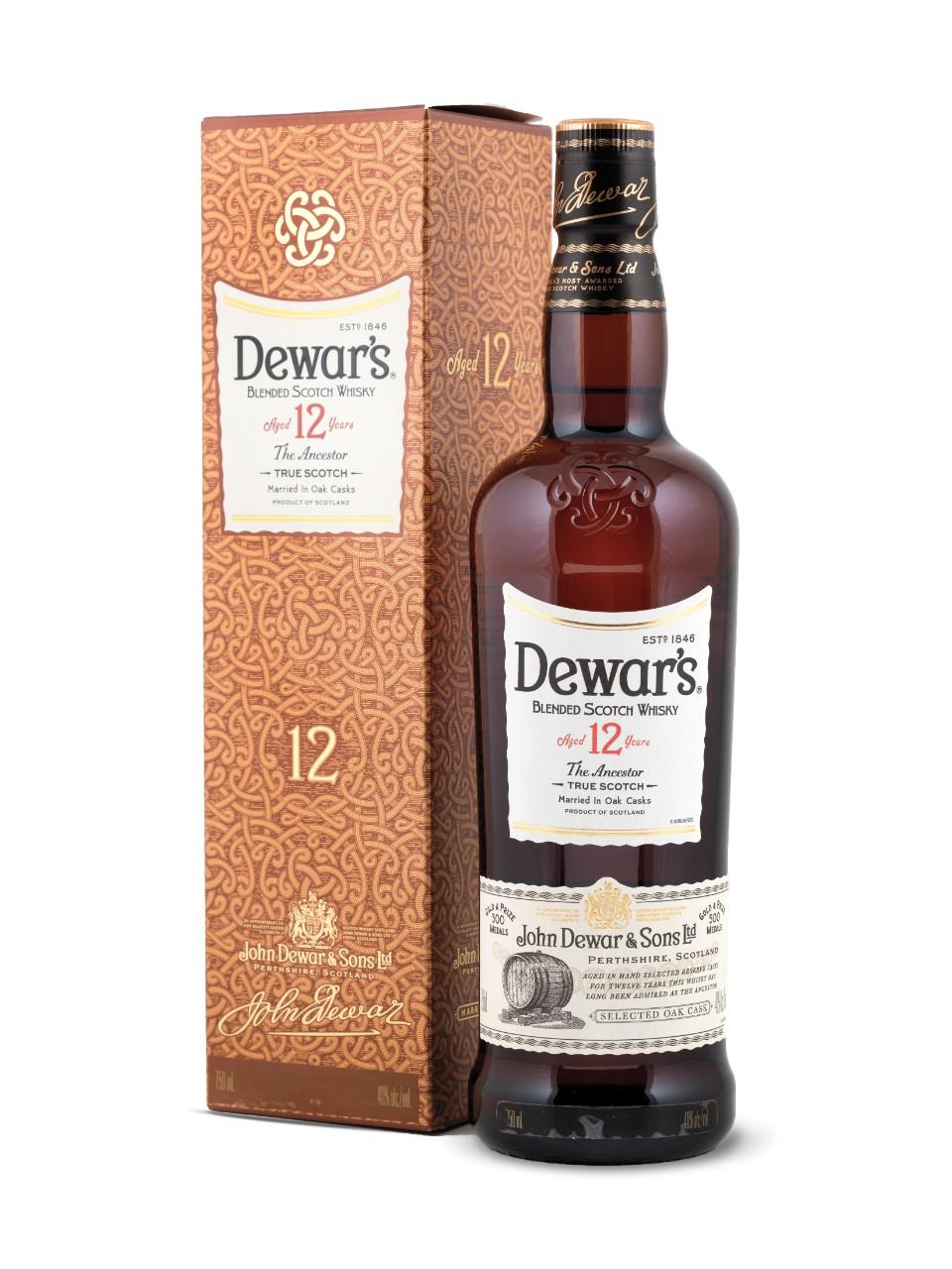 Image result for Dewars 12 years scotch