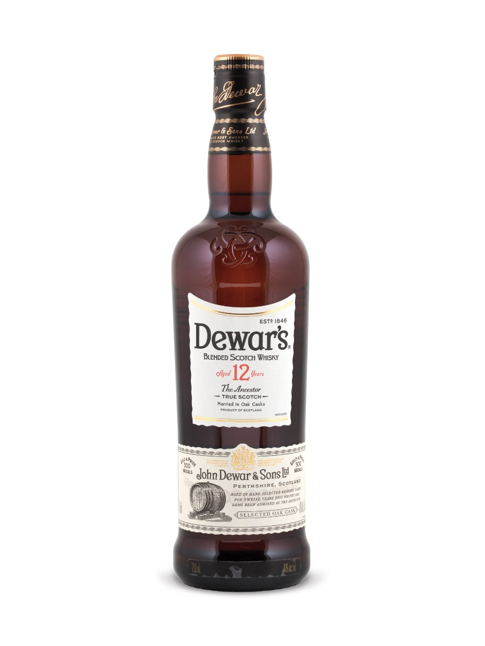 Image for Dewar's 12 Year Old Scotch Whisky from LCBO