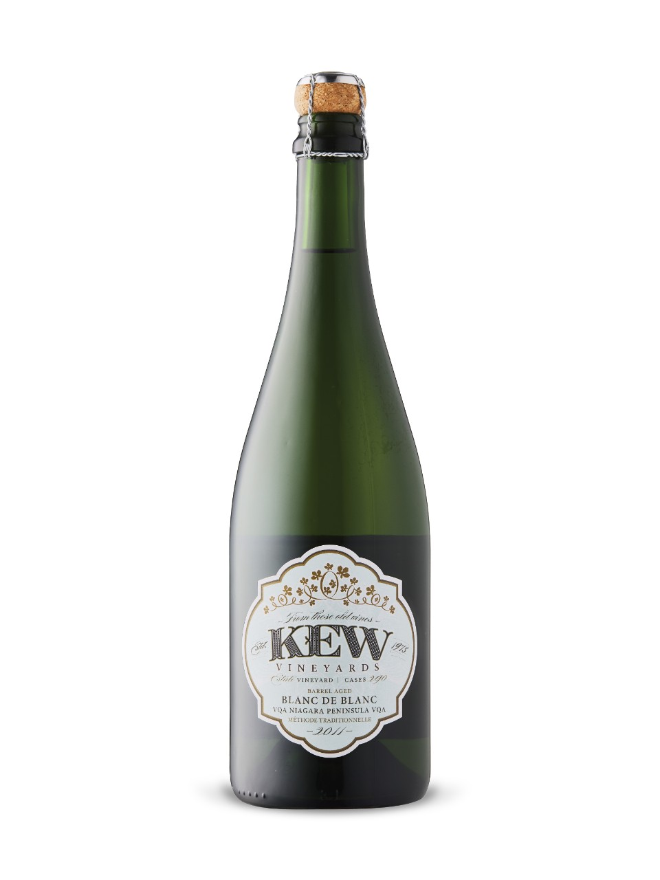Image for Kew Barrel Aged Blanc de Blanc 2011 from LCBO