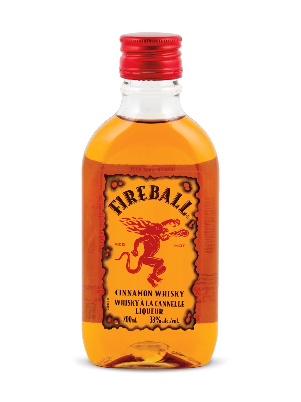 Image for Fireball Cinnamon Whisky (PET) from LCBO