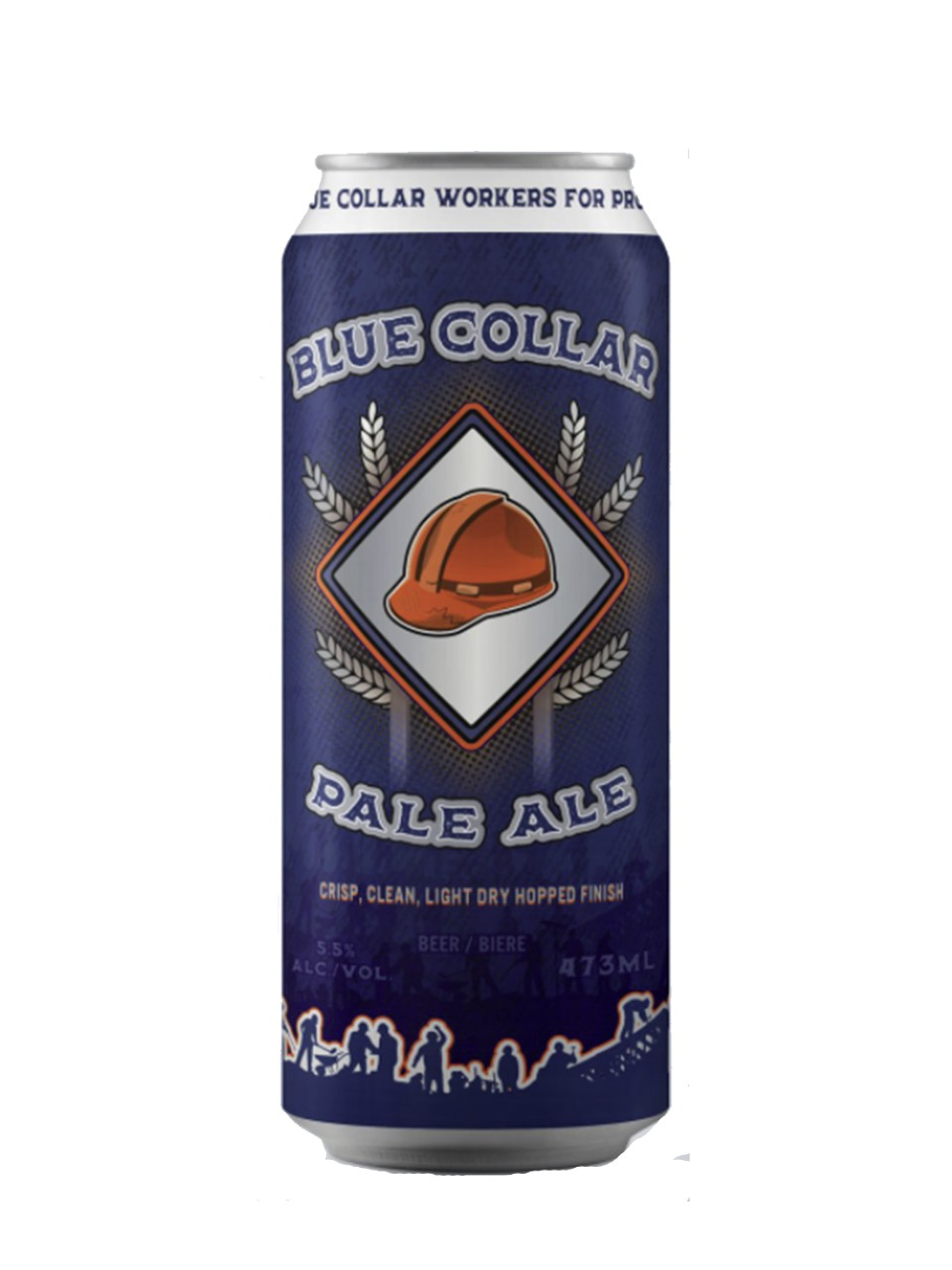 Image for The Hamilton Brewery Blue Collar Pale Ale from LCBO