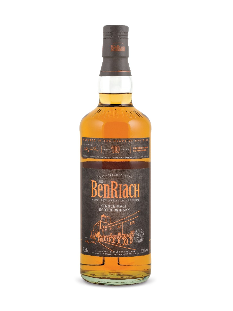 Image for Benriach 10 Year Old Single Malt Scotch Whisky from LCBO