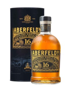 Whisky écossais Single Malt des Highlands Aberfeldy 16 ans d'âge