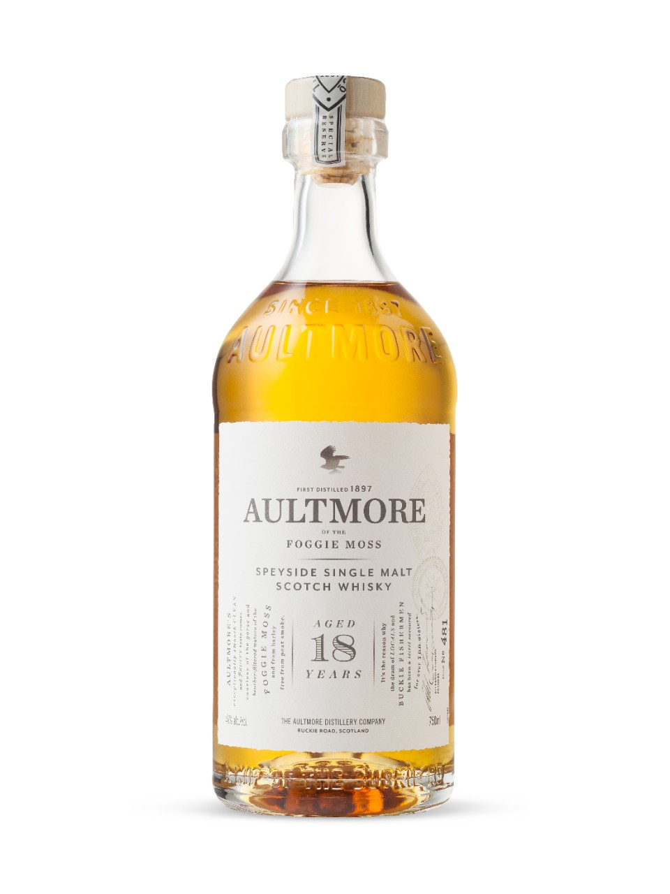 Aultmore 18 Year Old Speyside Single Malt Scotch Whisky
