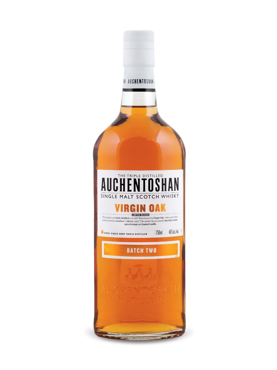 Whisky écossais Auchentoshan Virgin Oak II