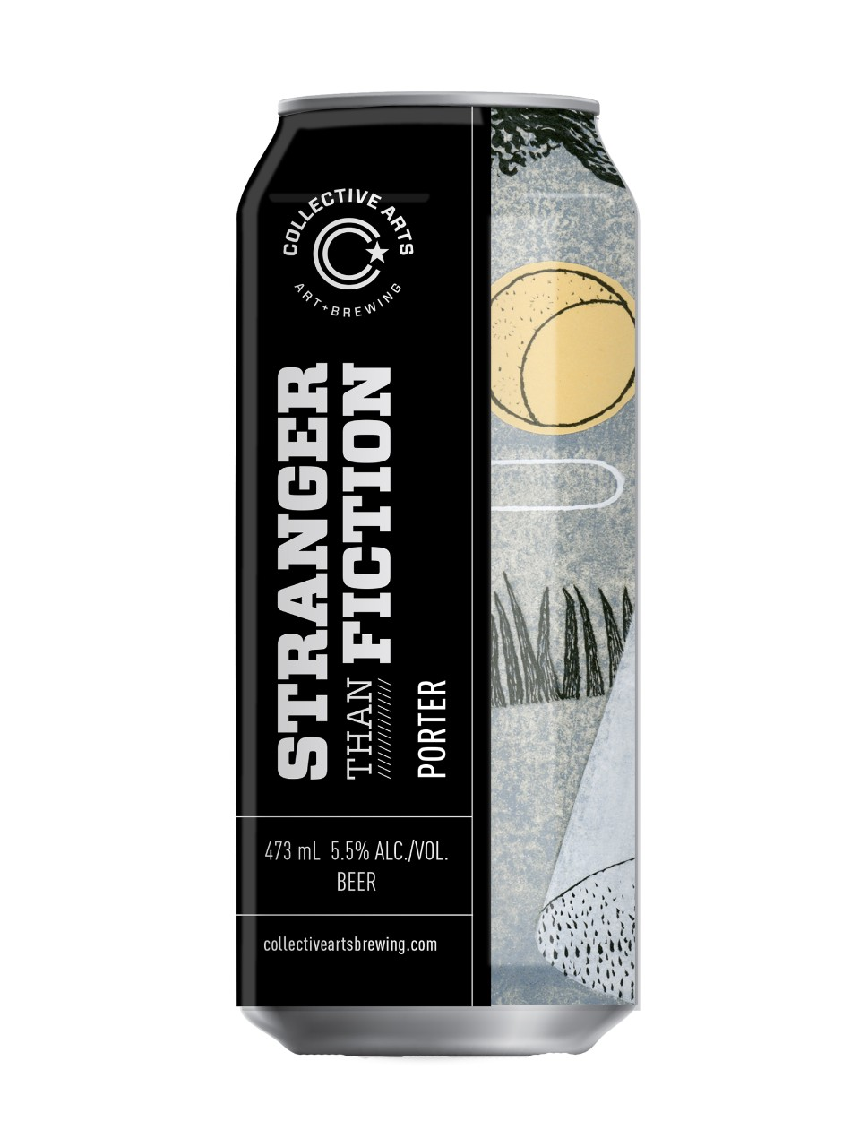 Image for Collective Arts Stranger Than Fiction, Porter from LCBO