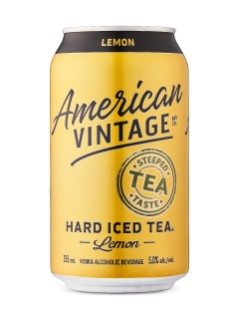 American Vintage Lemon Hard Iced Tea