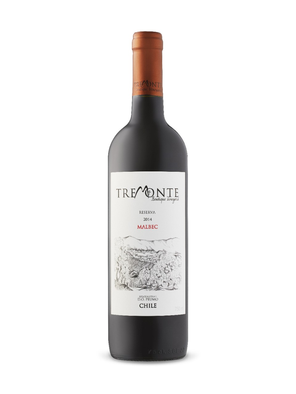 Image for Tremonte Reserva Malbec 2014 from LCBO