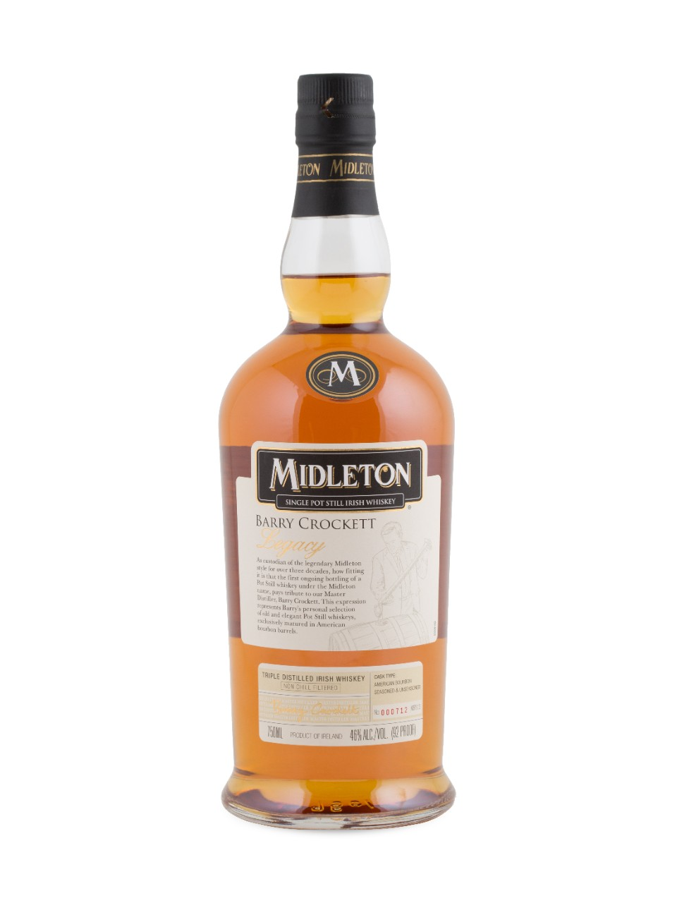 Image pour Whiskey irlandais Midleton Barry Crockett Legacy Single Pot Still à partir de LCBO