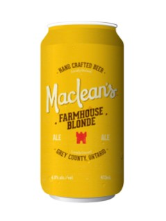 Maclean's Farmhouse Blonde