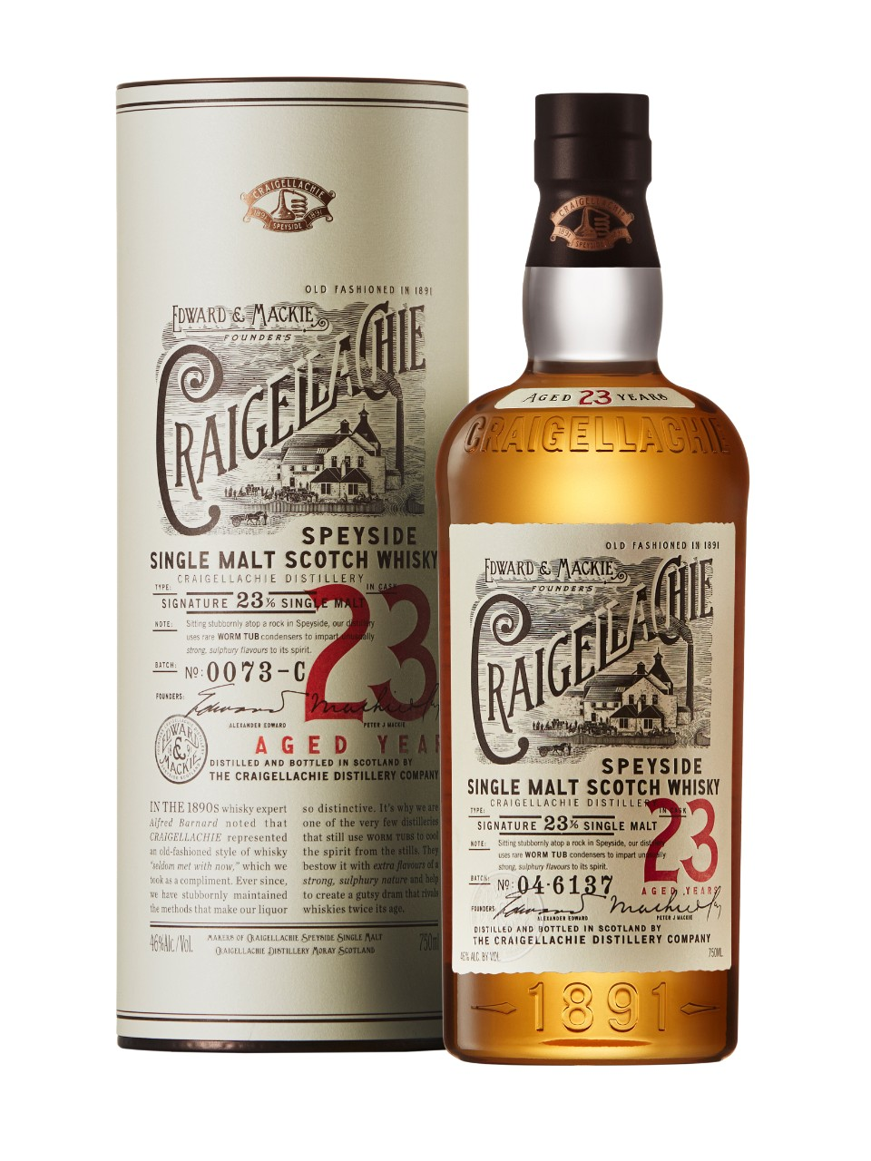 Image for Craigellachie 23 Year Old Speyside Single Malt Scotch Whisky from LCBO