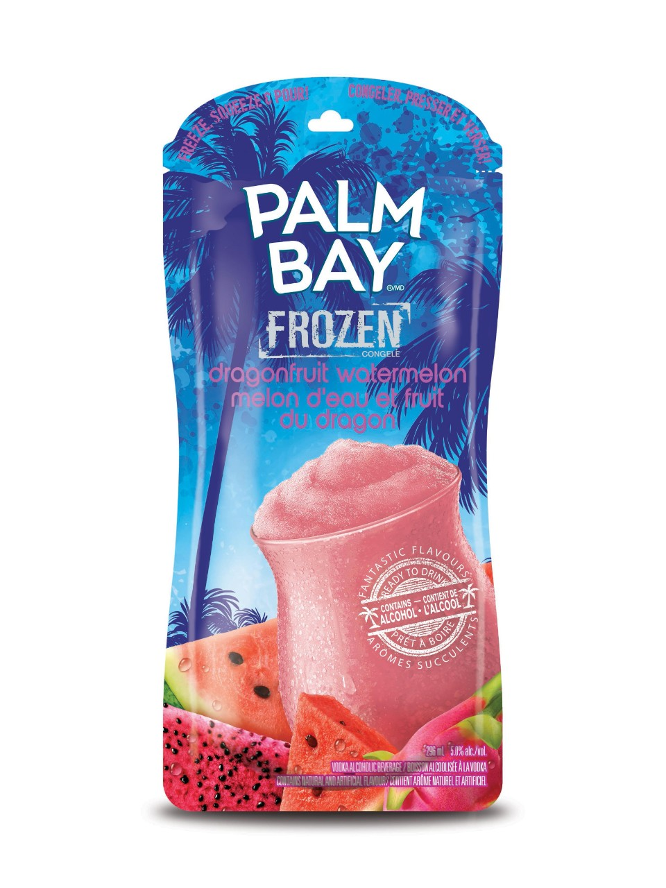 Image for Palm Bay Dragonfruit Watermelon Frozen from LCBO