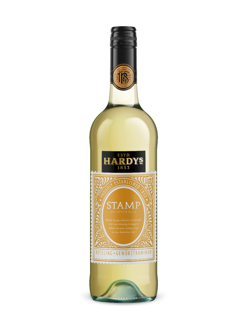 Image for Hardys Stamp Series Riesling Gewurztraminer from LCBO