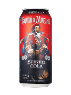 Captain Morgan Spiked Cola